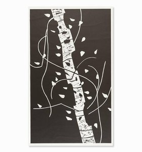 Alex KATZ - Grafik Multiple - Large Birch