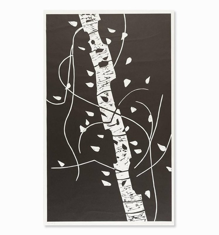 Alex KATZ - Print-Multiple - Large Birch