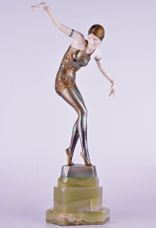 Johann Philipp Ferdinand PREISS - Escultura - Untitled (Female Dancer)