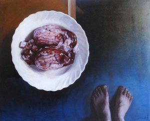 CHAO CHEN HUANG - Painting - Cerebro