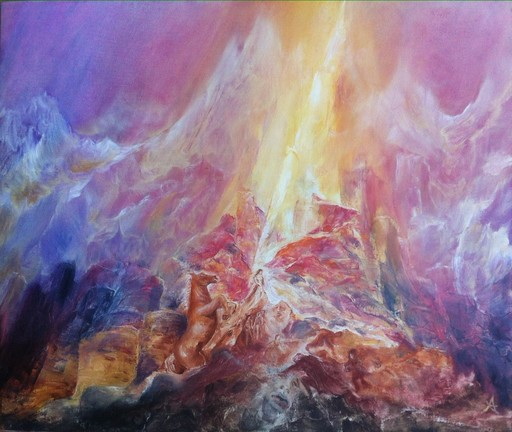 Anne Marie DELABY - Pittura - World