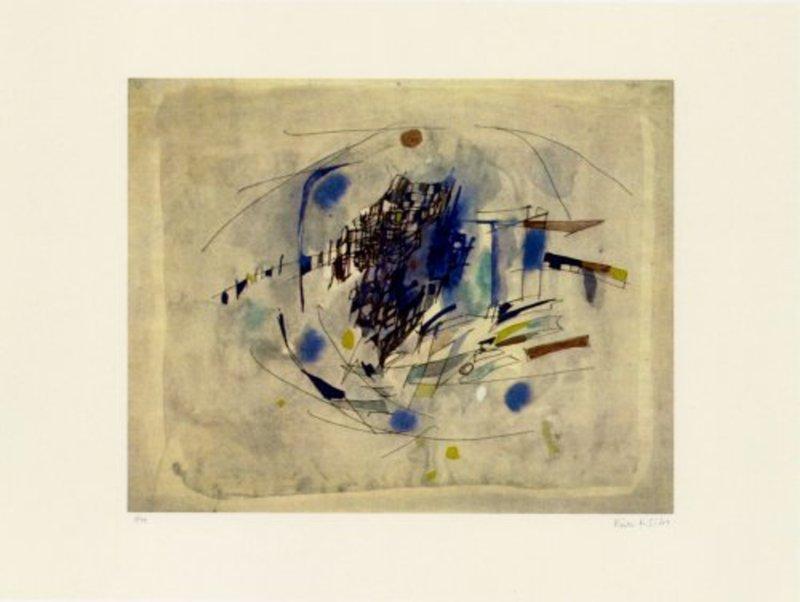 Maria Elena VIEIRA DA SILVA - Print-Multiple - Clair de lune