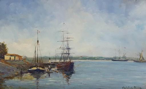 Paul Emile LECOMTE - Painting