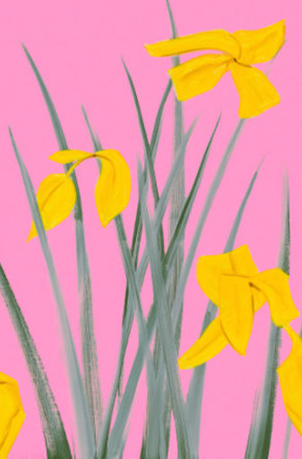 Alex KATZ - Print-Multiple - Yellow Flags 3
