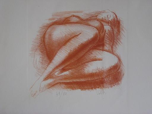 Antoniucci VOLTI - Print-Multiple - LITHOGRAPHIE SIGNÉE CRAYON NUM/80 HANDSIGNED NUMB LITHOGRAPH