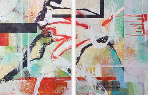 Carolina ALOTUS - 绘画 - Serendipity 1&2
