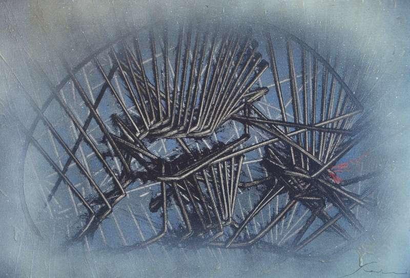 Emilio SCANAVINO - Peinture - Tramatura