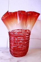 Sergio COSTANTINI - Sculpture-Volume - Marvelous Murano Glass sculpture (red)