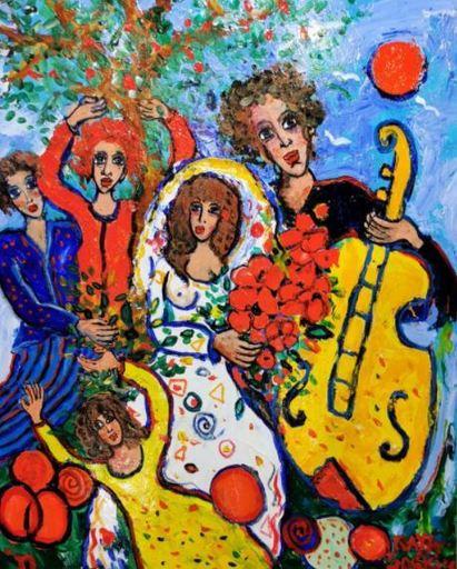 RAYA - Gemälde - Toujours de l'amour vrai