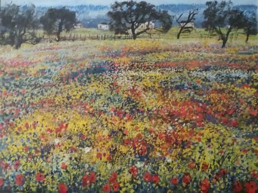 Michele CASCELLA - Peinture - FIORI DI PRIMAVERA - SPRING FLOWERS