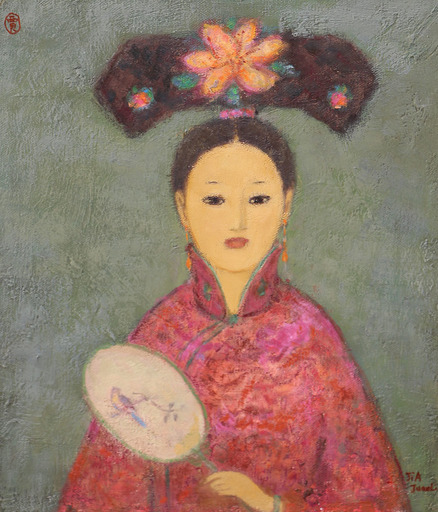 JIA Juanli - Gemälde - La princesse Quing