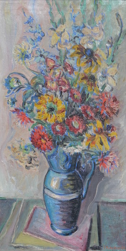 Constantin Andréevitch TERECHKOVITCH - Peinture - Floral still-life