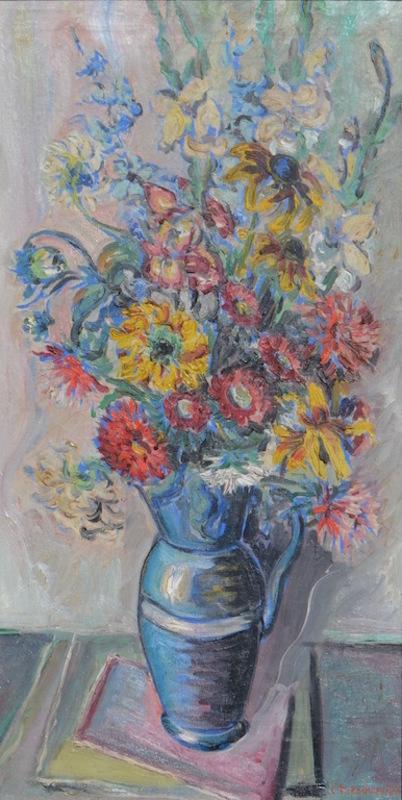 Constantin Andréevitch TERECHKOVITCH - Painting - Floral still-life