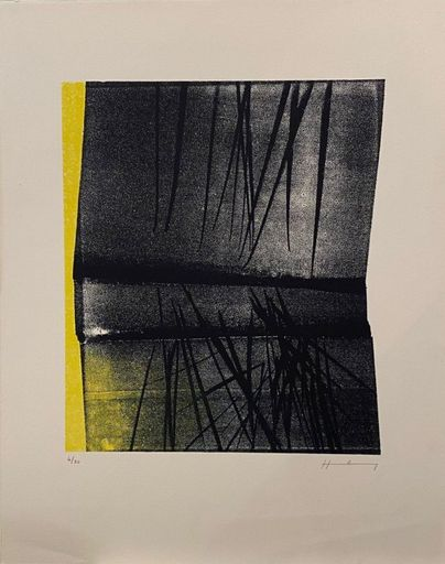 Hans HARTUNG - Stampa-Multiplo - L1977-12