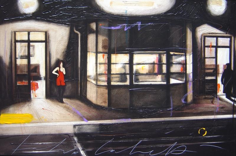 Fabio CALVETTI - Peinture - Ultima stazione