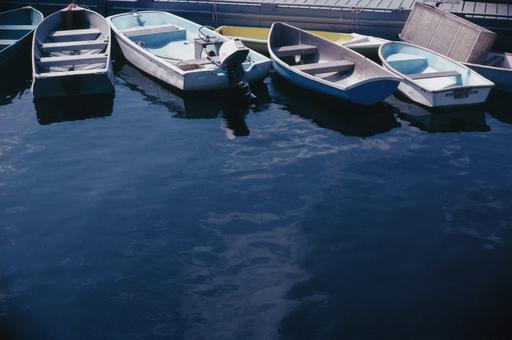 Michael K. YAMAOKA - Fotografia - Boats in the Harbor, Rockport, Maine