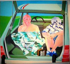 Gérard TISSERAND - Peinture - Vive les Vacances