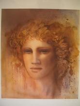 Jean-Paul CLEREN - Grabado - Visage ocre,1985.