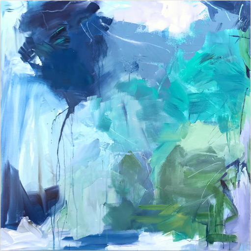 Michelle MARRA - Painting - Blue for you