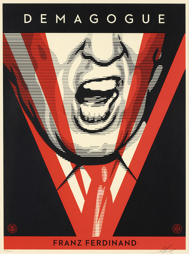 Shepard FAIREY - Druckgrafik-Multiple - Demagogue