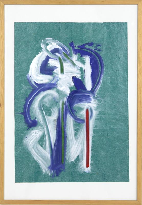 Christian BONNEFOI - Peinture - Dos (ref.C20)