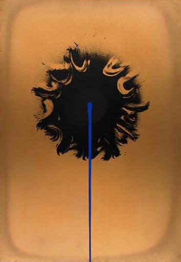 Otto PIENE - Estampe-Multiple - Blue Streak