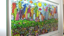 James RIZZI - Print-Multiple - Fun Days on Sundays in Central Park