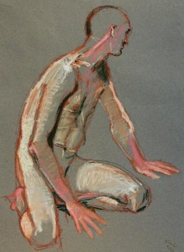 R.CAVALIÉ - Drawing-Watercolor - Orchestique