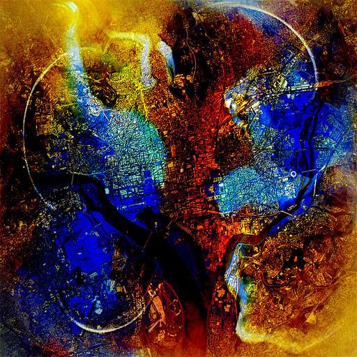 Roland S. HEIM - Painting - washington dc no1