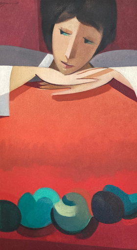 Armando BARRIOS - Gemälde - Figura XXXV