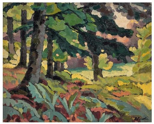 Pierre PAROT - Painting - paysage limousin