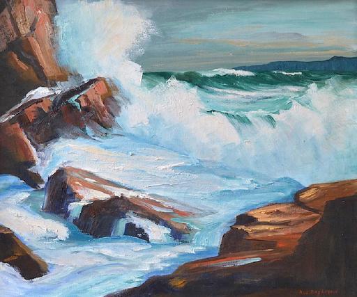 Abraham Jacobi BOGDANOVE - Pintura - After the Storm