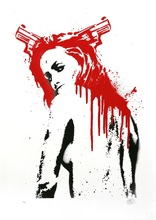 Nick WALKER - Grabado - 38 Pigtails