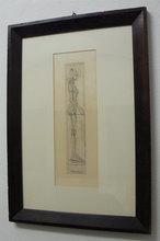 Alberto GIACOMETTI - Print-Multiple - Nu de Profil (Nudo di profilo)