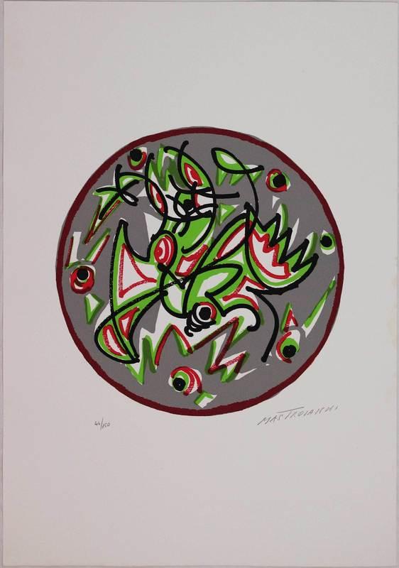 Umberto MASTROIANNI - Print-Multiple - Trinità