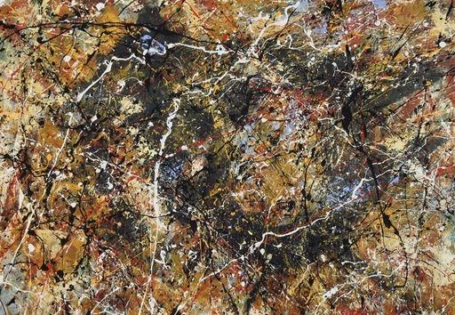 Jean-Jacques MARIE - Gemälde - Composition A415