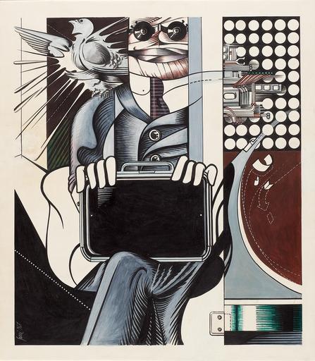 Sergio SARRI - Gemälde - Studio per V.I.P