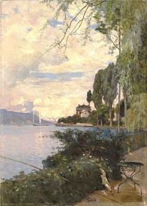 François BOCION - Pintura - Clarens