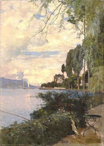 François BOCION - Painting - Clarens
