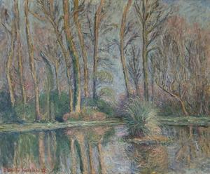 Blanche HOSCHÉDÉ-MONET - Pintura - Le bassin des nymphéas à Giverny