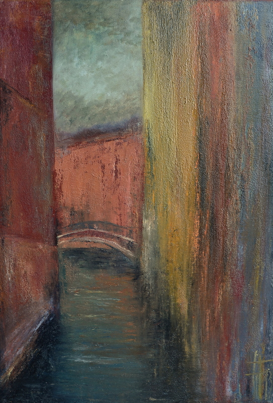 Géraldine THEUROT - Peinture - Venise I    (Cat N° 4934)