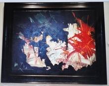 Georges MATHIEU - Pintura - Clarté étrangère