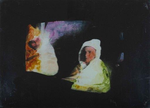 Mario SCHIFANO - Gemälde - UNTITLED