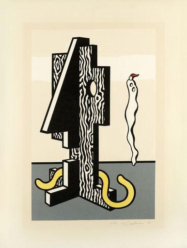 Roy LICHTENSTEIN - Stampa Multiplo - Figures