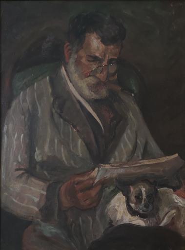Emilio NOTTE - Painting - Ritratto del padre