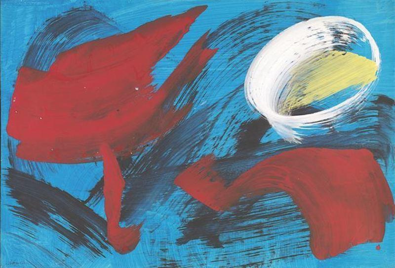 Gérard SCHNEIDER - Painting - Sans titre