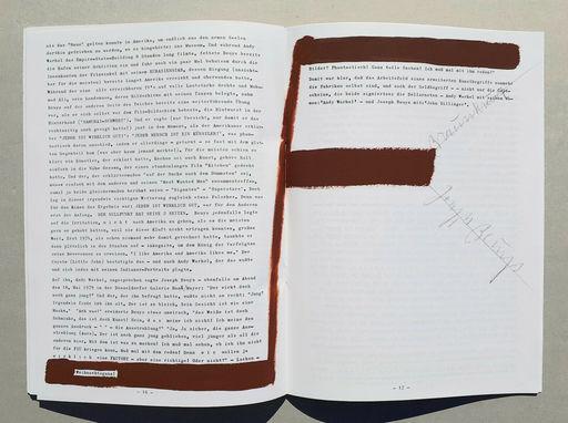 Joseph BEUYS - Print-Multiple - Das Warhol Beuys Eirignis