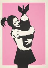 BANKSY (1974) - Bomb Hugger - signed