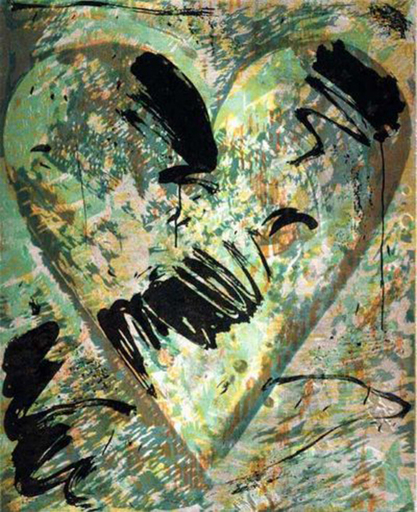 Jim DINE - Stampa Multiplo - Called by Sake