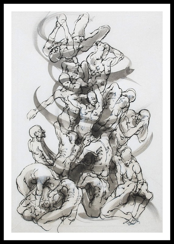 Marie TAKLANTI - Drawing-Watercolor - Sarabande